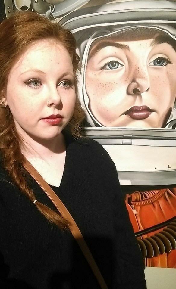"""""""Я нашла своего двойника на местной художественной выставке"""" в мире, вещи, подборка, познавательно, удивительно"""
