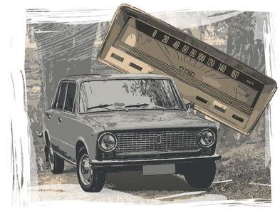 ВАЗ-2101: вы знаете, почему первые Жигули были лишены стрелочных приборов?
