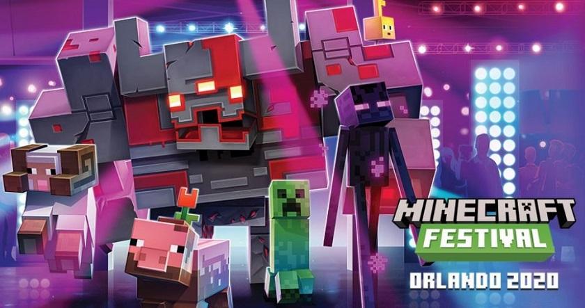 Стала известна дата Minecraft Festival в Орландо minecraft festival,Игровые новости,Игры