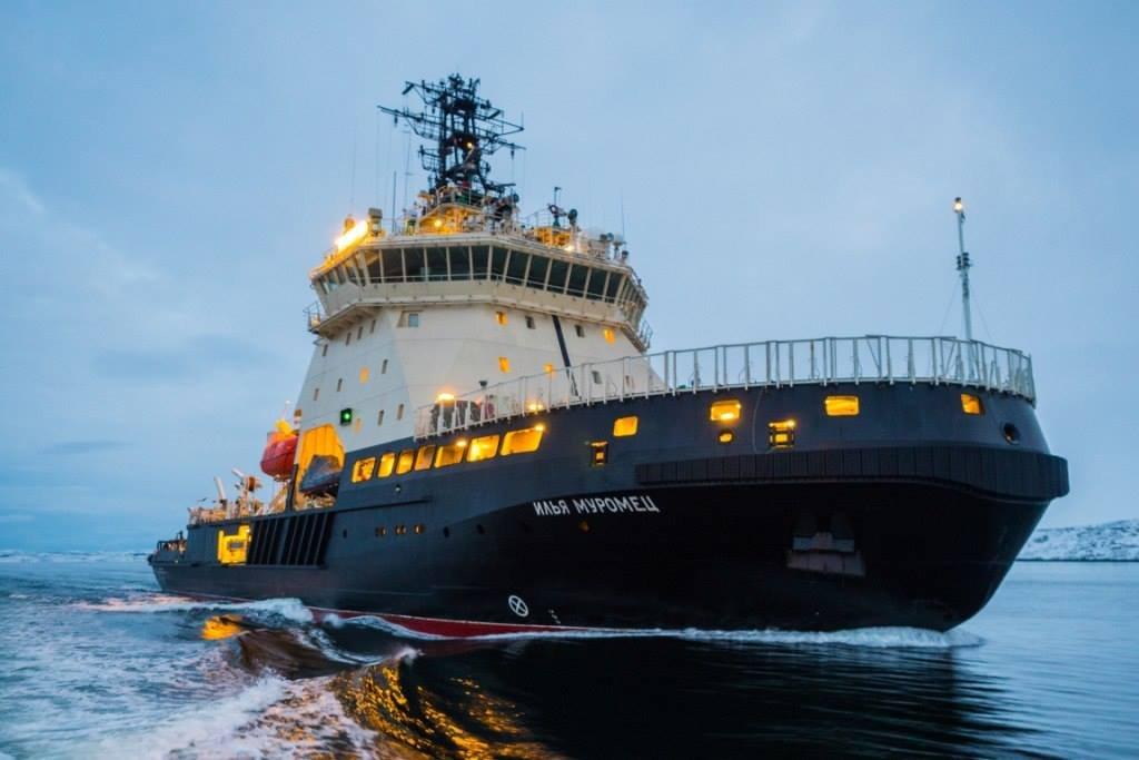 В России построят новый ледокол «Евпатий Коловрат» по проекту 21180М