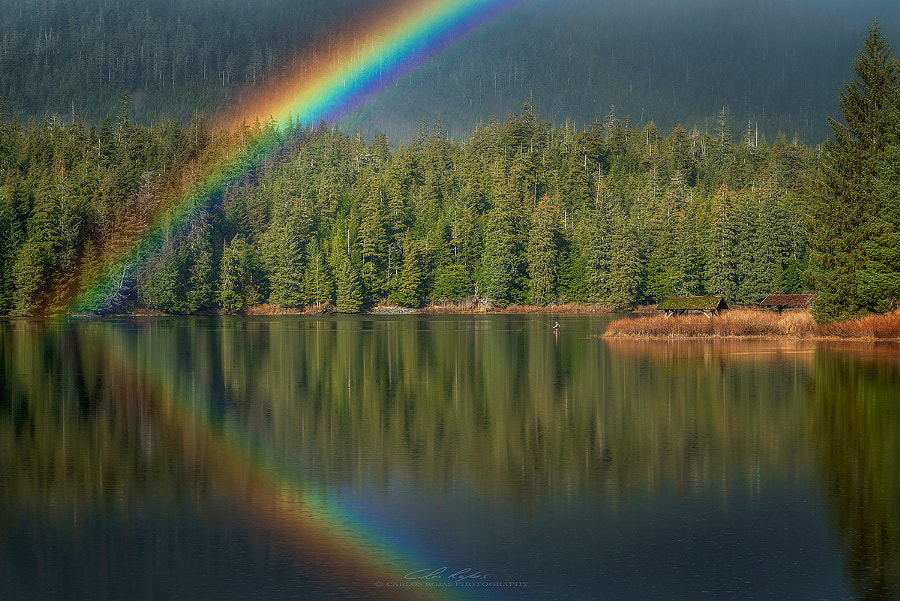 Fishing Under the Rainbow by Carlos Rojas on 500px.com