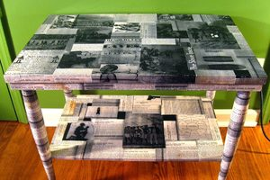 Декор и декупаж деревянного стола своими руками мастерство,поделки,рукоделие,самоделки,своими руками,сделай сам,творчество,умелые руки