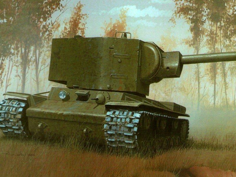 Танк КВ-2