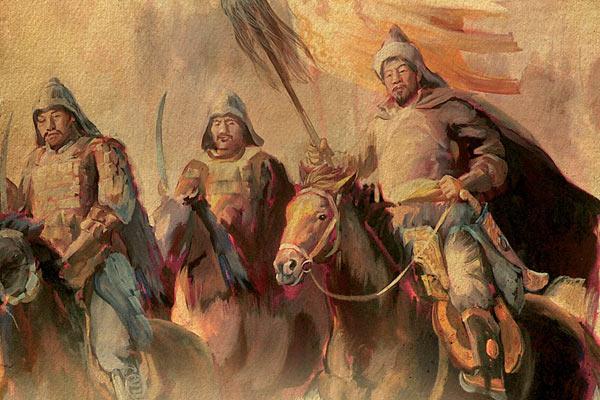 Как себя называли монголы-татары, и почему у них были голубые глаза
