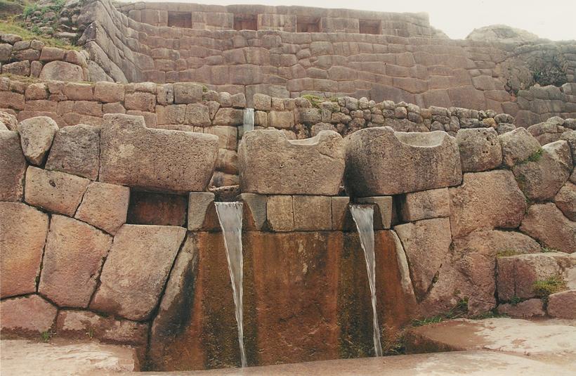 Уникальная водная система инков