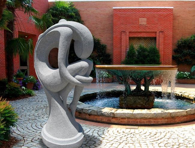 Скульптура стиля модерн