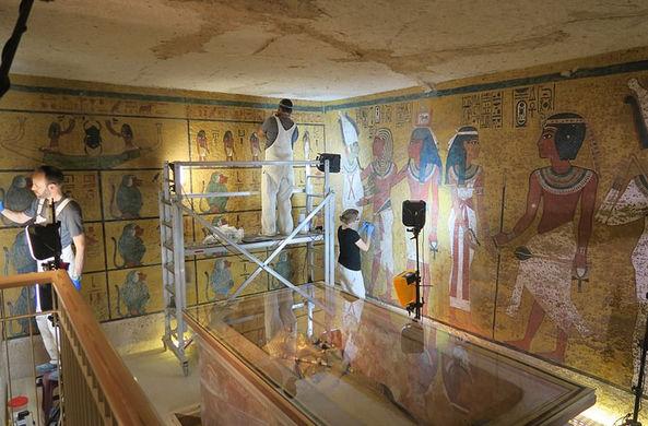 Гробницу Тутанхамона отреставрировали и открыли для посетителей