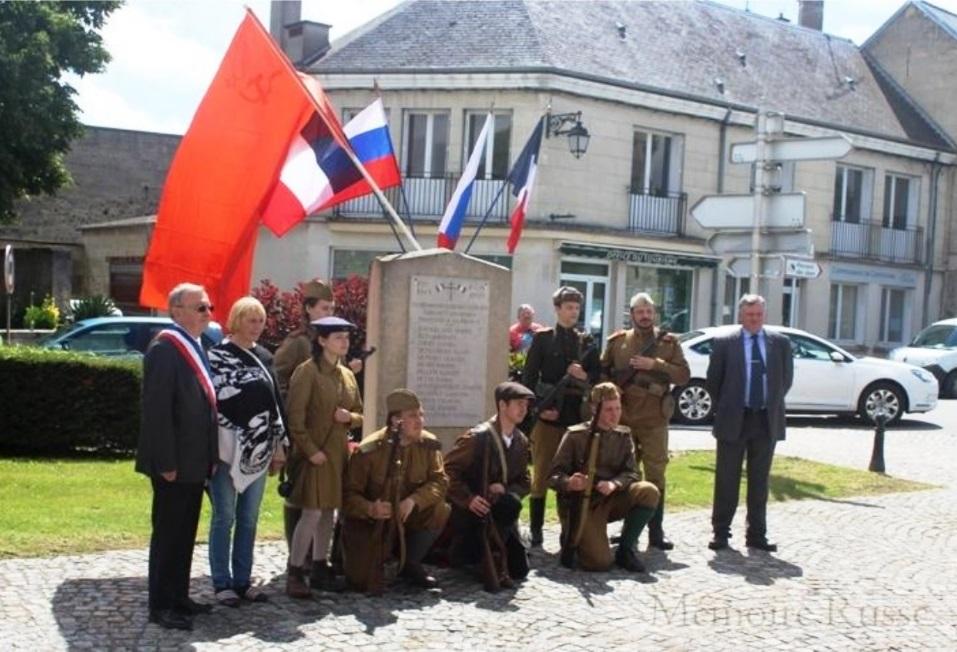 Ассоциация «Mémoire Russe» сохраняет память о советских солдатах, сражавшихся и погибших во Франции