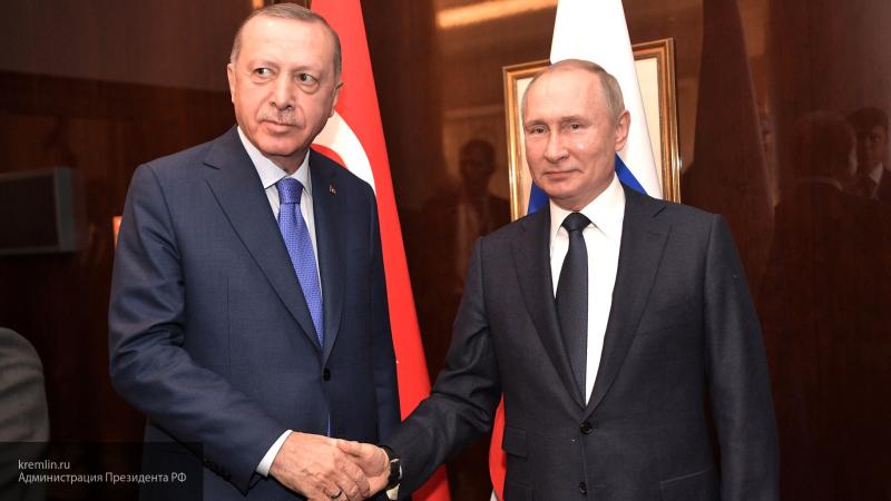 Путин и Эрдоган обсудили по телефону координацию стран в связи с ситуацией в Идлибе