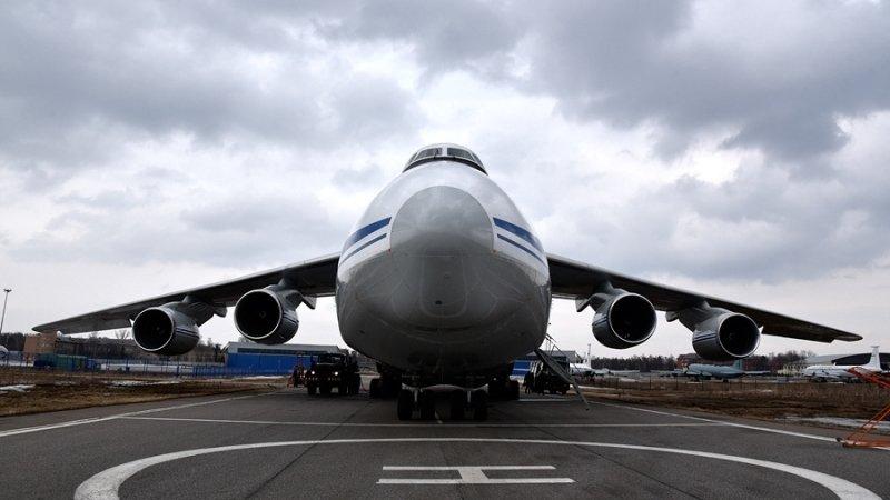 Украина решила возобновить строительство тяжелых самолетов АН-124 «Руслан»