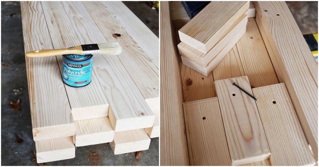 Превратите остатки дерева в универсальный предмет мебели