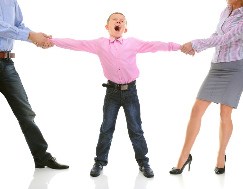 Родители в разводе