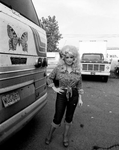 Dolly Partons first tour bus