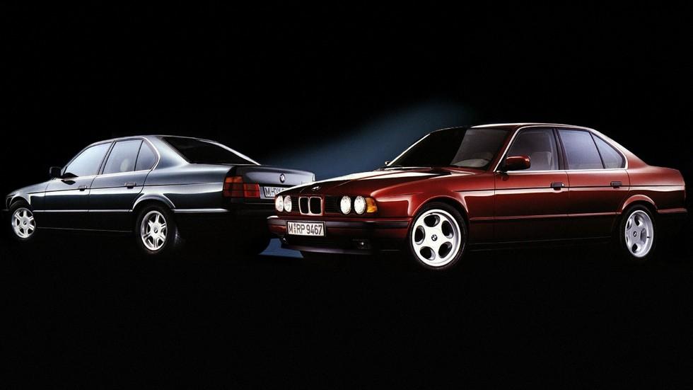 BMW 5 Series Sedan (E34) '12.1987–12.1995