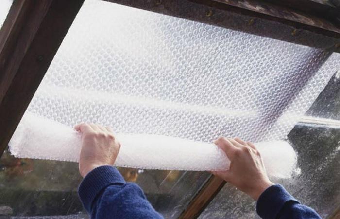 Неожиданные способы применения пленки с пузырьками