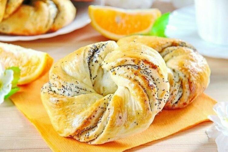Вкуснейшие апельсиновые булочки