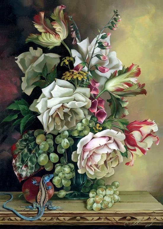 художник Ирина Романова-Лоренц (Ira Rom-Lorenz) картины – 11