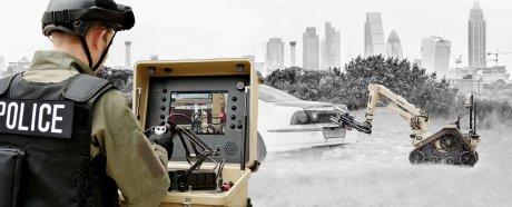 Британские военные получат необычных роботов-саперов с тактильной обратной связью военная техника