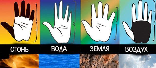 Форма руки и ваша личность