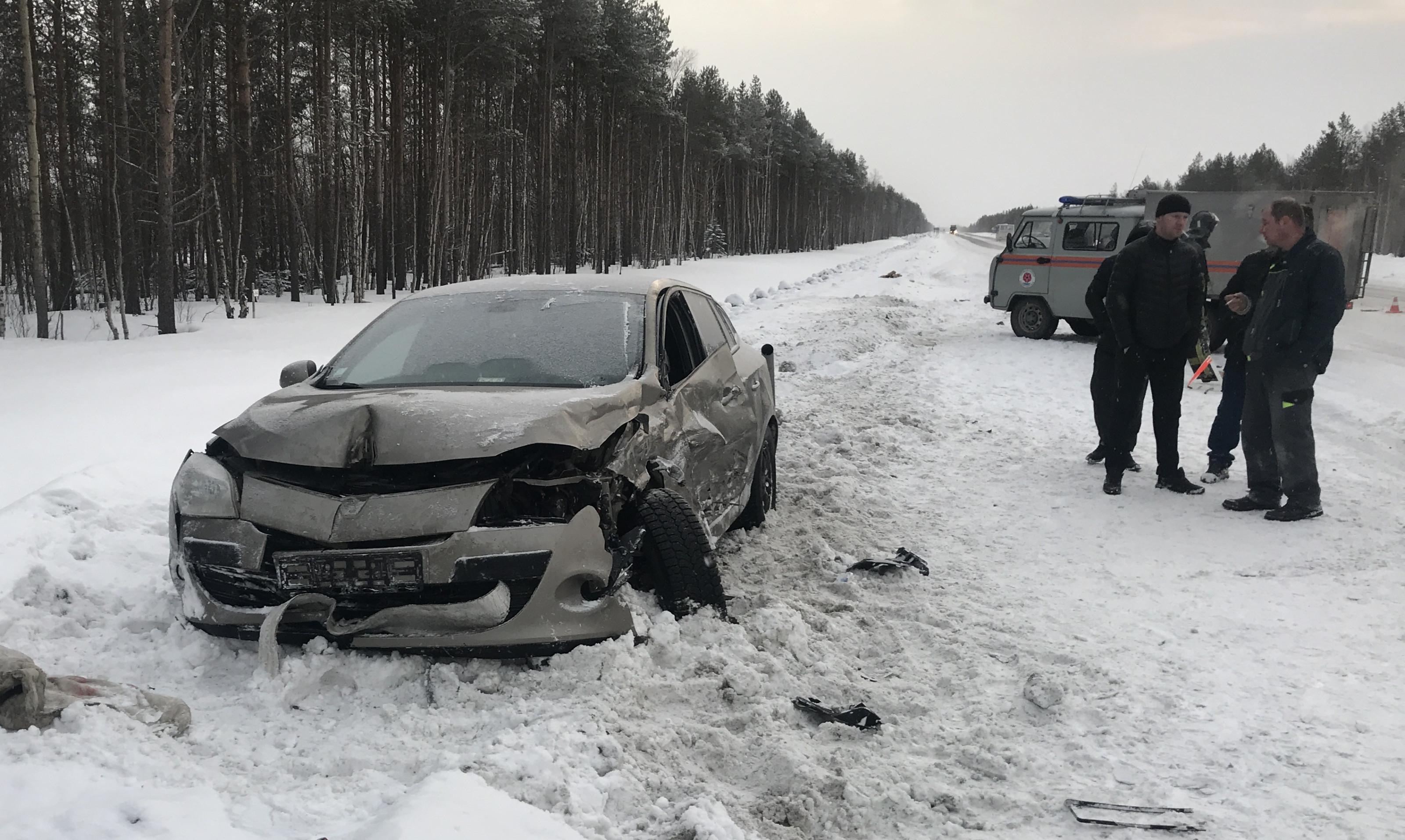 ДТП на пятом километре Архангельского шоссе