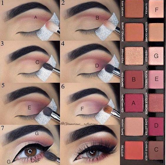Лучшие варианты макияжа с инструкциями