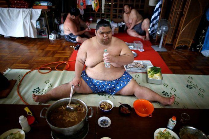 Тяжела и неказиста жизнь простого сумоиста