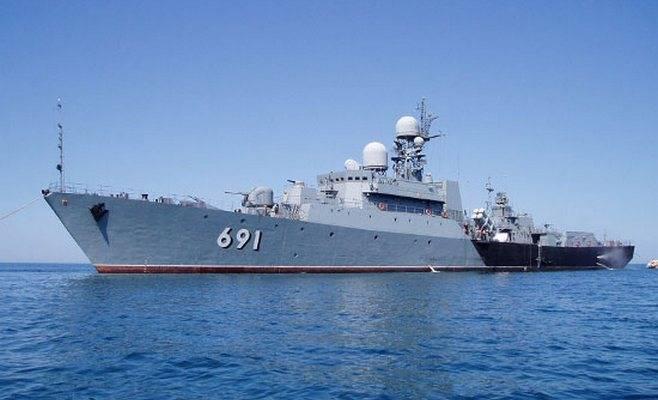 На Каспийской флотилии проведено учение по отражению атак с воздуха