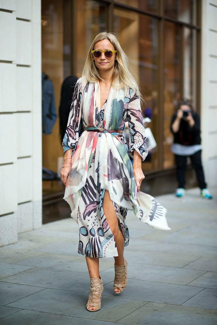 Платье-кимоно: Основные фасоны сезона!