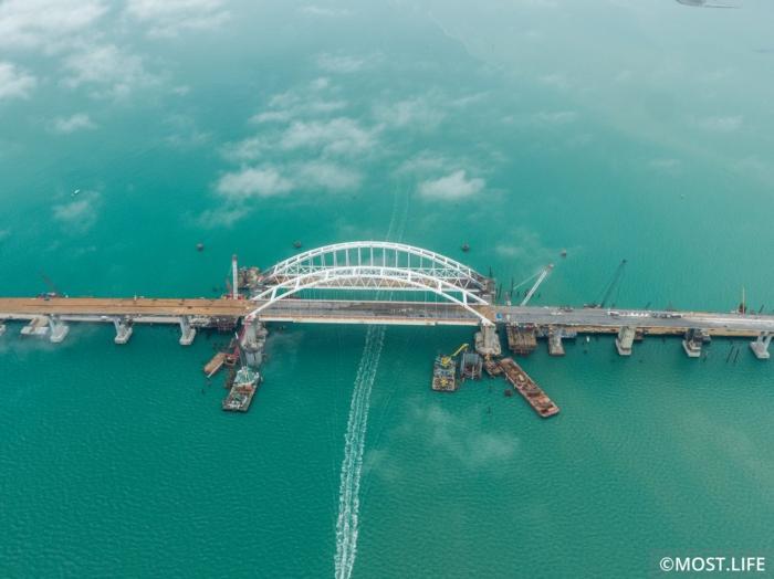 Ввод в эксплуатацию Керченского Моста — 9 мая 2018 г