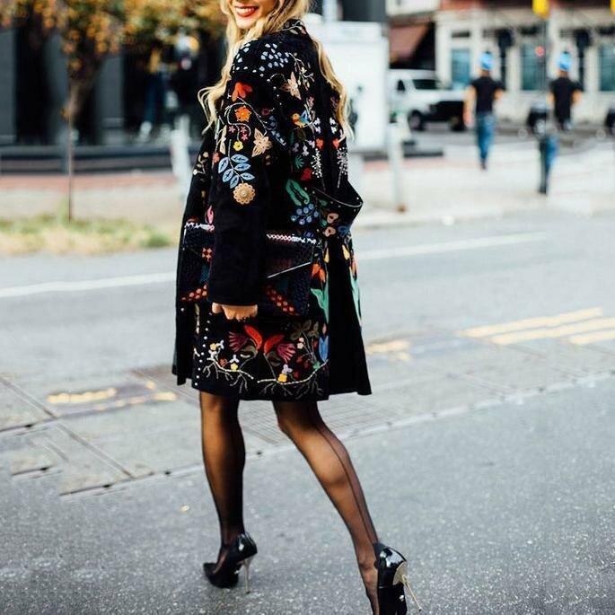 Глаз не отвести: 10 необычных пальто на осень мода и красота,модные образы,модные тенденции,одежда и аксессуары