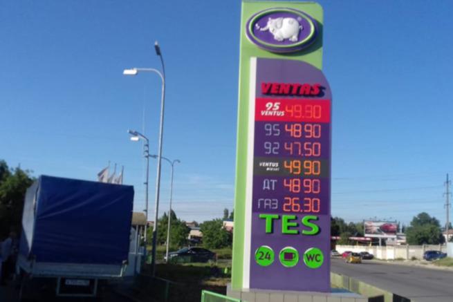 Звериный оскал бензинового к…