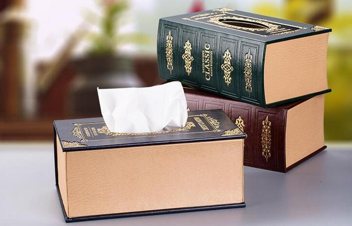 Салфетки из коробок.