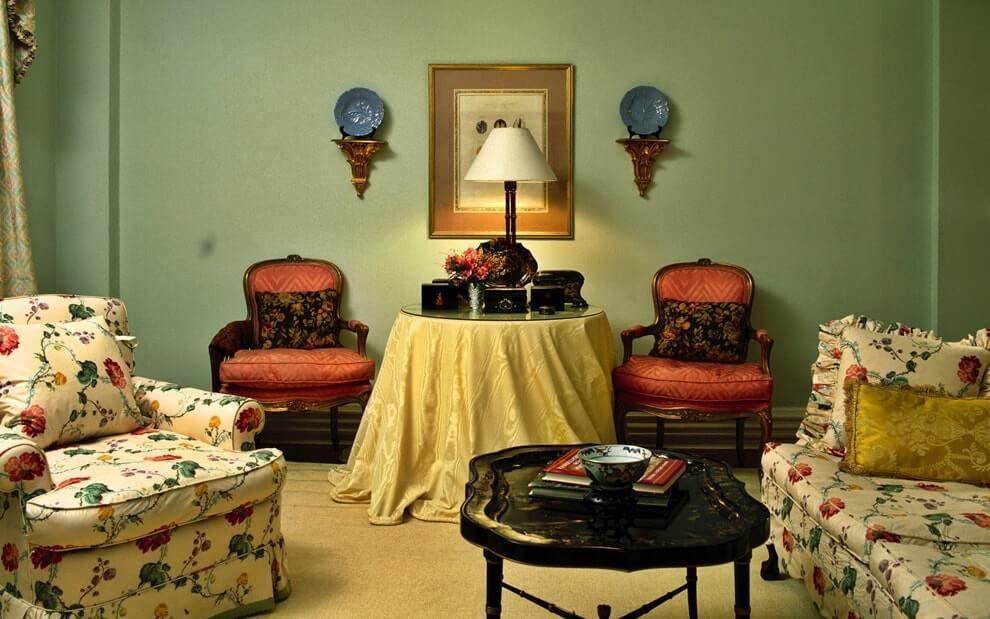 Дизайн квартиры в стиле ретро фото