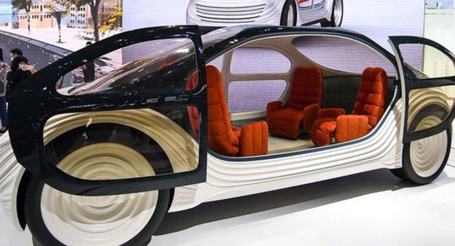 Представлен дизайнерский электромобиль с опцией очистки забортного воздуха Автомобили