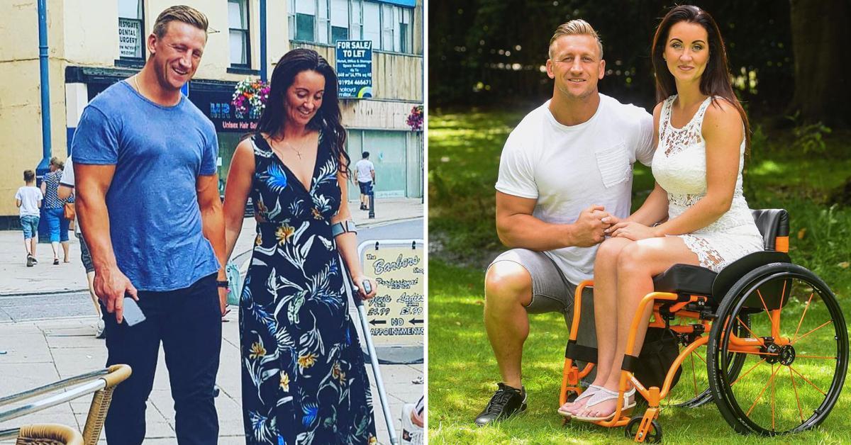 Женщину с детьми бросил муж после того, как ее парализовало. Но она смогла стать на ноги и найти свою любовь не всё так грустно