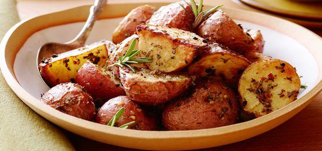 вкусная картошка на мангале