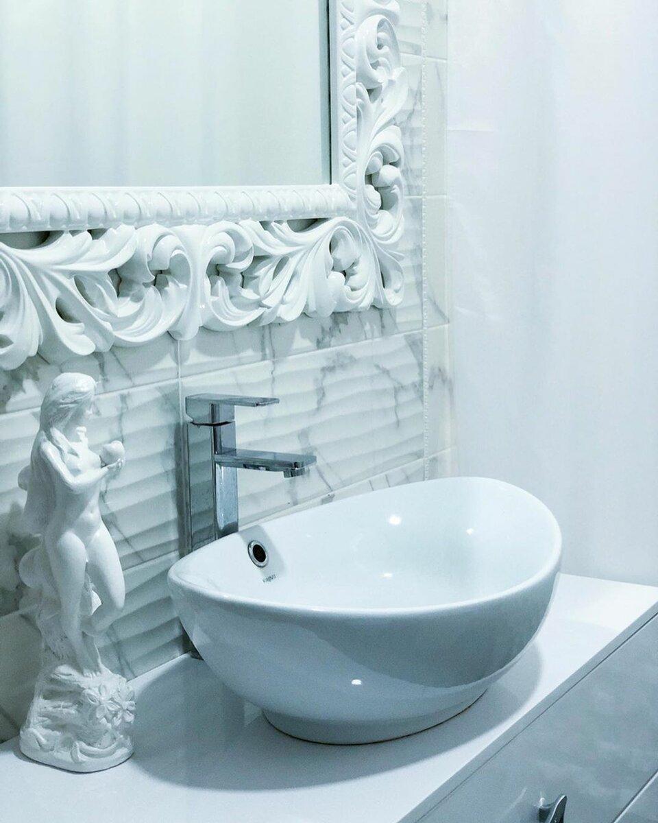 Необычный санузел 6 кв.м., за 206 тысяч, фото до и после ремонта идеи для дома,интерьер и дизайн,санузел