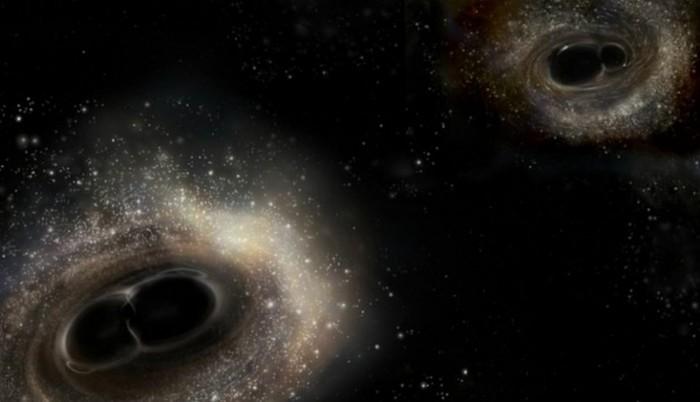 Гравитация: почему слияния черных дыр не помогут найти новые измерения #Часть 5 Станислав Бабак, Черная дыра, гифка, длиннопост