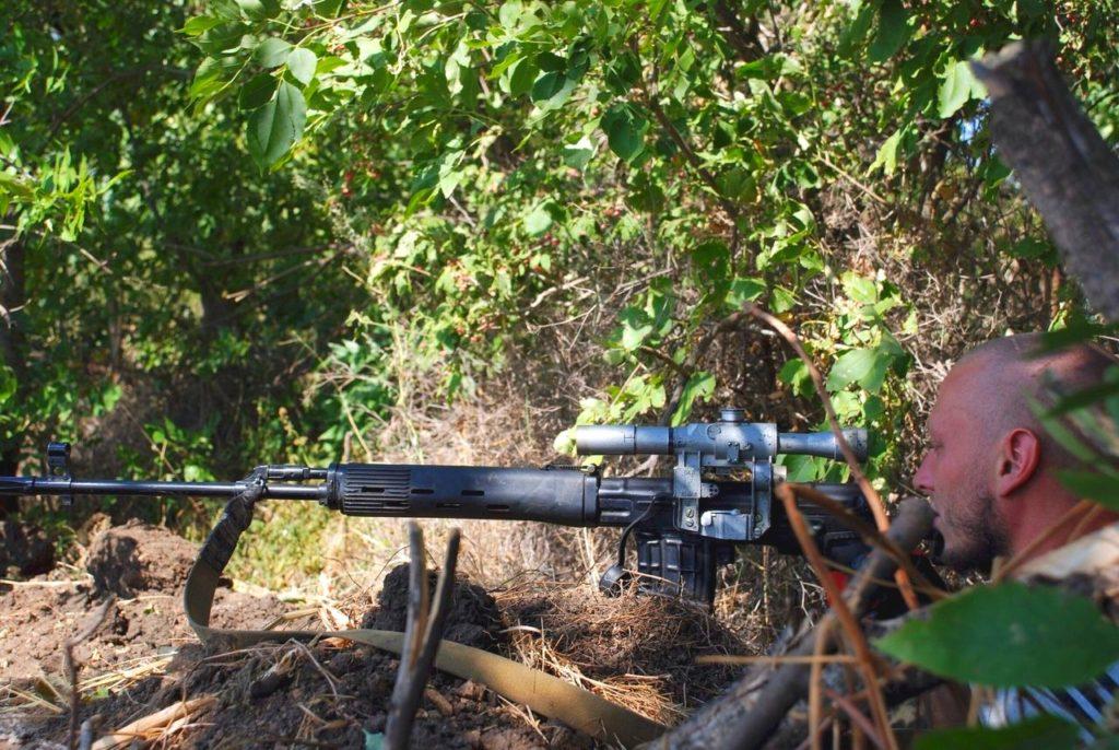 Вычислены девять снайперов-прибалтов, прибывших в Донбасс пострелять по мирным
