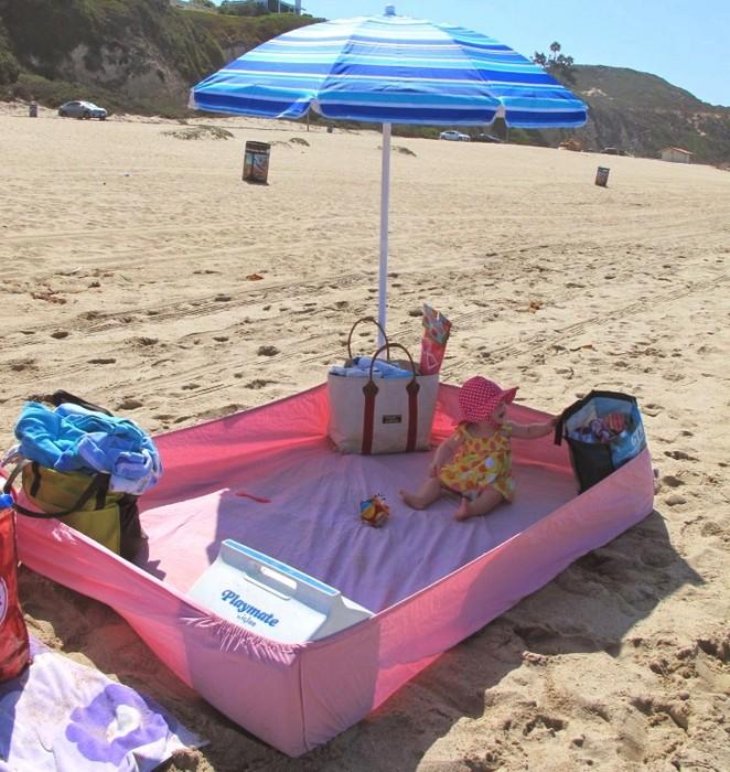 Подстилка для пляжа повышенного комфорта.