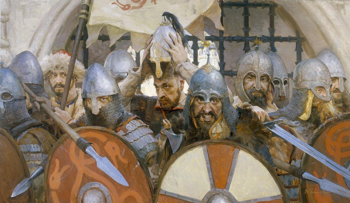 вот картинки солдаты древняя русь меня название