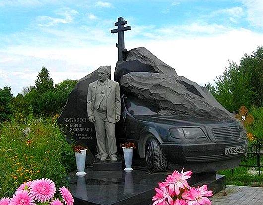 Надгробия русского криминала вызвали интерес на Западе