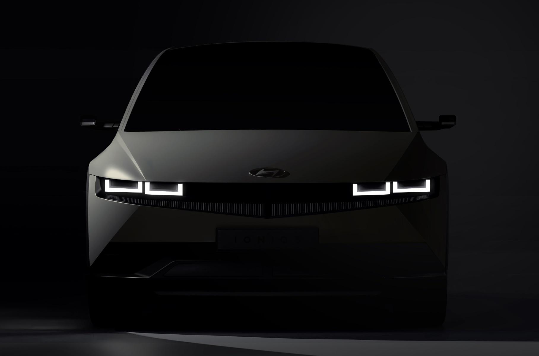 Hyundai опубликовал первые фотографии нового электромобиля Новости