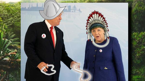 """""""Хуже, чем с индейцами!"""" Как Германия поменяла золото на бумагу от США? новости,события"""