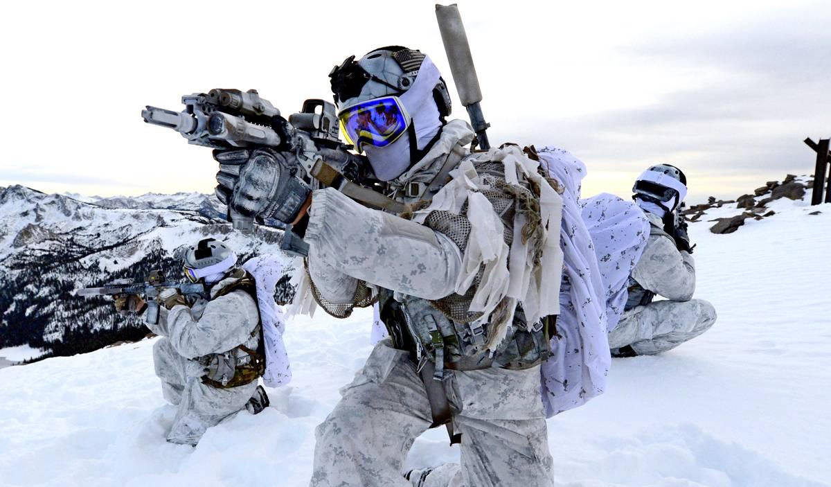 Американские военные в Арктике. Источник изображения: https://vk.com/denis_siniy