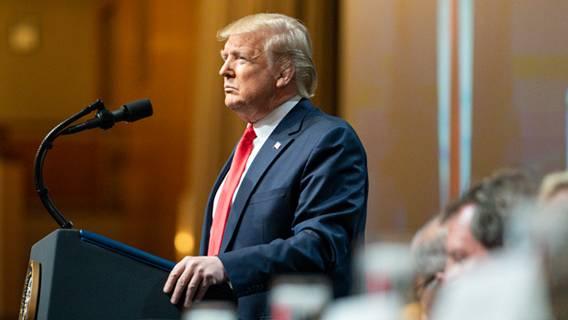 Трамп выступит на конференции республиканцев-консерваторов впервые после ухода из Белого дома