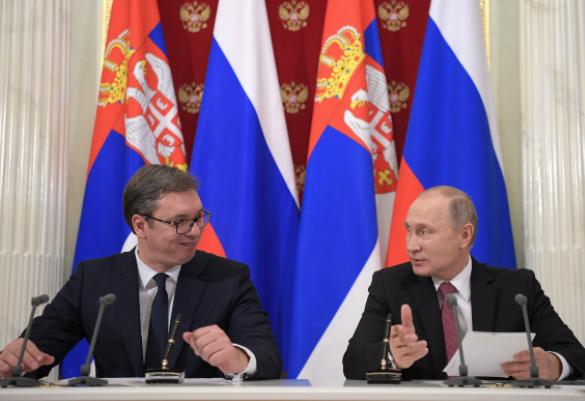 Президент Сербии первым из мировых лидеров поздравил Путина с победой на выборах