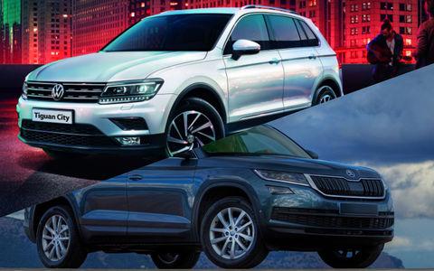 Skoda Kodiaq или Volkswagen Tiguan: какой кроссовер выбрать?