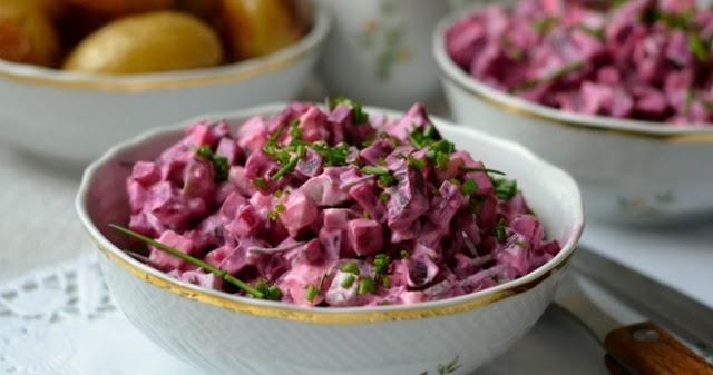 Греческий свекольный салат: …