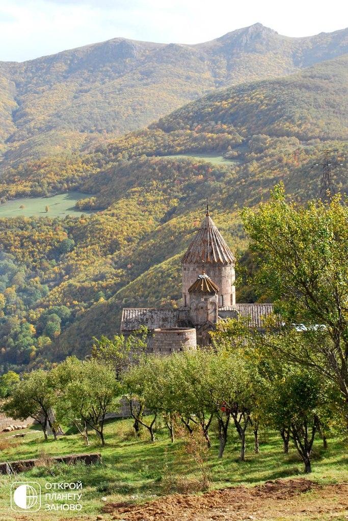 Татевский монастырь. Армения.